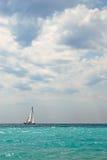 łódkowaty żeglowanie fotografia stock