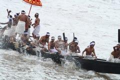 łódkowaty bieżny wąż Fotografia Stock
