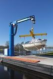 łódkowaty dźwignięcie Zdjęcia Stock