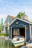 Łódkowaty dom Zdjęcie Stock