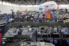 Łódkowaty expo w miasta Dallas TX 2017 wnętrzu Obraz Stock
