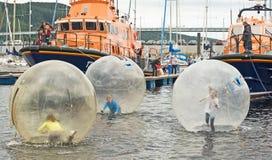łódkowaty festiwal Inverness Zdjęcia Royalty Free