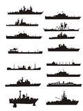 łódkowaty inkasowy konturów statku wektor fotografia stock