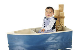 Łódkowaty Jeździecki dziecko Fotografia Royalty Free