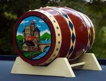 łódkowaty kanałowy ornament Obraz Royalty Free