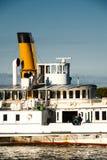 łódkowaty kapitanu rejsu gość restauracji Obrazy Royalty Free