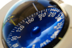 Łódkowaty kompas Zdjęcia Stock