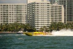 łódkowaty Miami przejażdżki dreszcz obraz stock