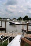 Łódkowaty peir Fotografia Stock