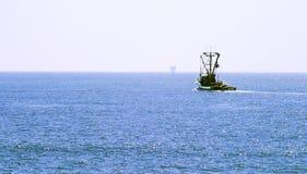 łódkowaty połów Zdjęcia Royalty Free