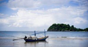 łódkowaty połów Fotografia Royalty Free
