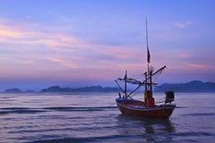 łódkowaty połów Fotografia Stock