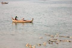 Łódkowaty podróżowanie Obraz Stock