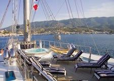 Łódkowaty pokład Zdjęcie Royalty Free