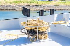 Łódkowaty pokład Obraz Stock