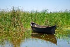 łódkowaty ręcznie robiony stary Obrazy Stock