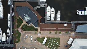 Łódkowaty schronienie nadziei wyspy złota wybrzeże zdjęcia stock