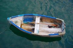łódkowaty stary wioślarstwo Fotografia Stock