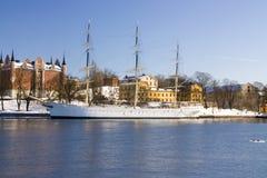łódkowaty Stockholm zdjęcia royalty free