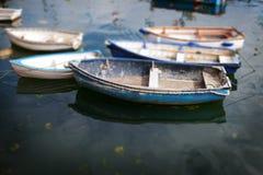 łódkowaty wioślarski morze Obrazy Royalty Free