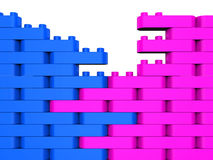 Łącząca budowa Pokazuje działanie Wpólnie I Kolaboruje ilustracji