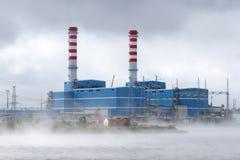 Łącząca cykl Benzynowa turbina, CCGT zdjęcie stock