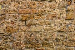 Łączący ściana z cegieł Obraz Royalty Free