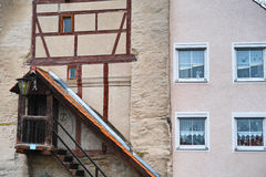 Łączący domowy fasadowy stary nowy Zdjęcie Stock