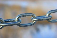 Łączący stal łańcuch Obraz Stock
