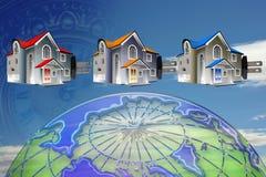 Łączy Domową energię ilustracja wektor