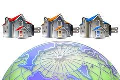 Łączy Domową energię ilustracji