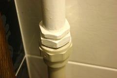 Łączy klingerytu i metalu drymby Obraz Royalty Free