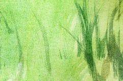 Łąka, abstrakcjonistyczny obraz royalty ilustracja