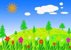 łąki wiosna Obraz Royalty Free