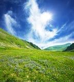 łąkowa góra obrazy stock