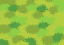 Łąkowa Zielonej trawy tła tekstura, Wektorowa ilustracja royalty ilustracja