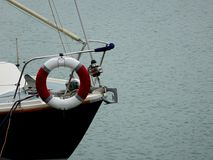 Łęk łódź zdjęcie royalty free