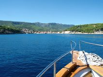 Łęk łódź Obraz Royalty Free