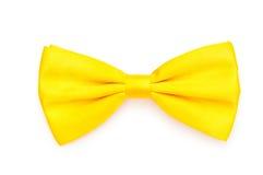 łęk odizolowywający czerwony krawat Fotografia Royalty Free