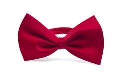 łęk odizolowywający krawat Zdjęcie Stock