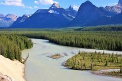 Łęk rzeka Zdjęcia Stock