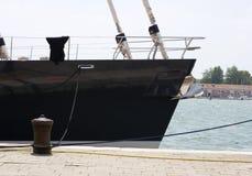 Łęk, stern statek Obraz Royalty Free