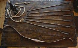 Łęk z strzała Zdjęcie Stock