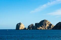 Łękowata formacja Cabo San Lucas Zdjęcie Stock