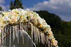 łękowaty ślub Obrazy Stock