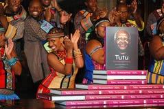 Łękowaty biskup Zasłużony Desmond Tutu obrazy royalty free