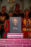 Łękowaty biskup Zasłużony Desmond Tutu fotografia stock