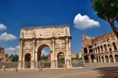 łękowaty colosseum Constantine blisko Obraz Royalty Free