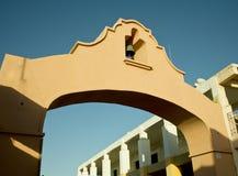 łękowaty dzwonkowy meksykański villiage Fotografia Royalty Free