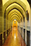 łękowaty korytarz obraz royalty free